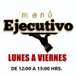 MENÚ EJECUTIVO DE LA SEMANA DEL 3 AL 7 DE SEPTIEMBRE